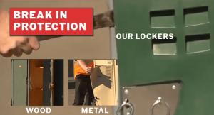 Locker Break in test