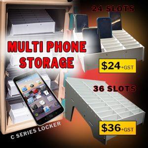 phone cubby lock box price