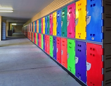 Industrial Cool Lockers