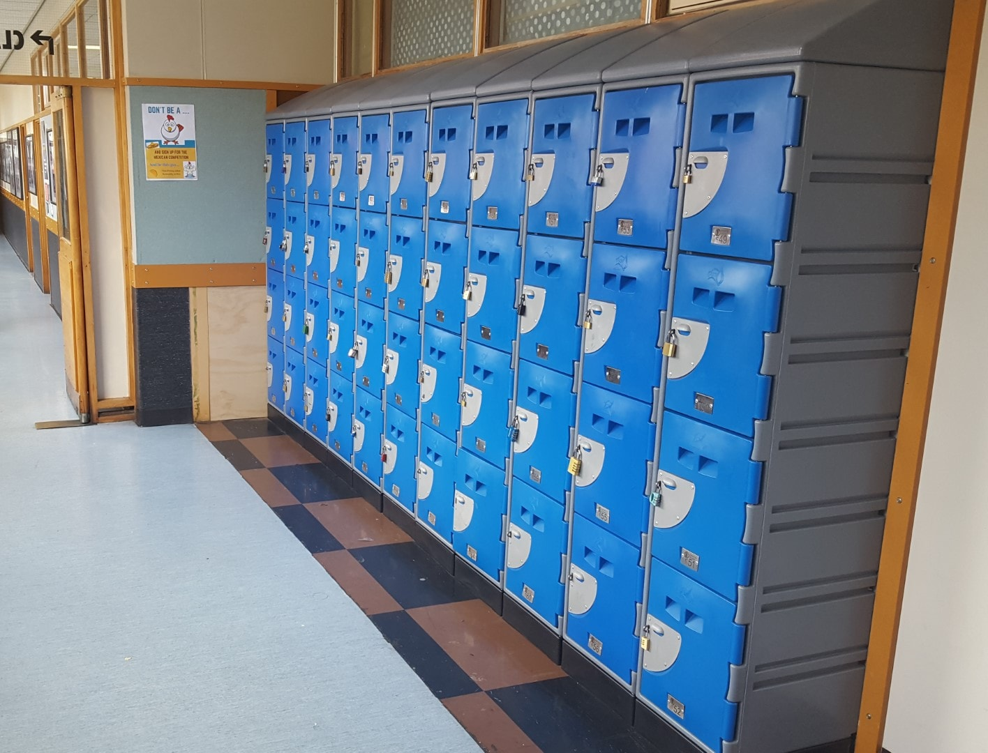 Rongotai college School Locker
