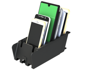 Mobile Phone Cubby Rack for storage
